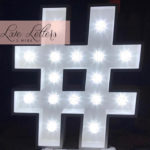 Hire Hashtag Lights
